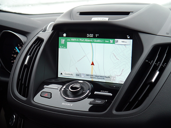 GPS in 2017 Ford Escape