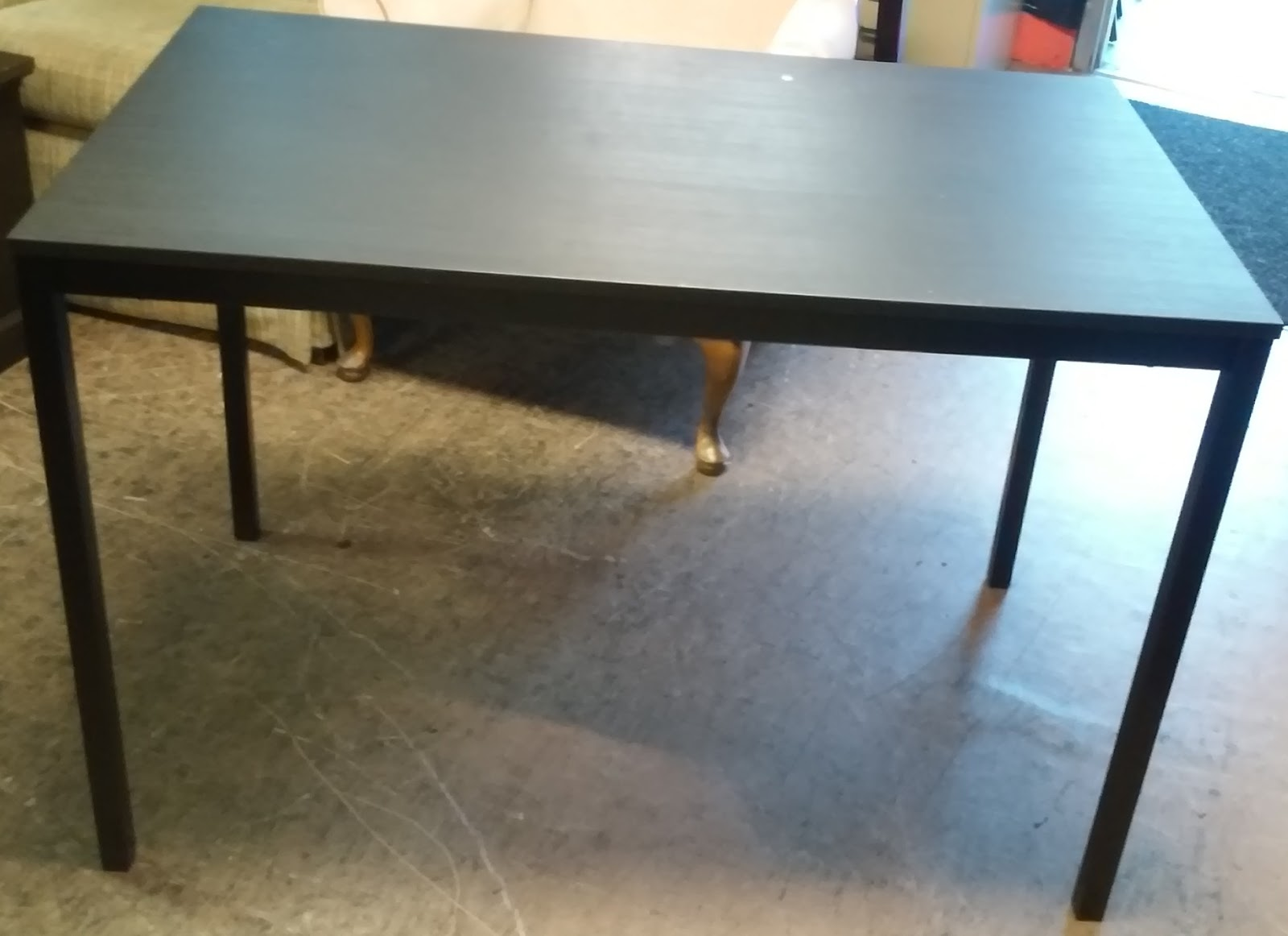 espresso ikea tarendo dining table