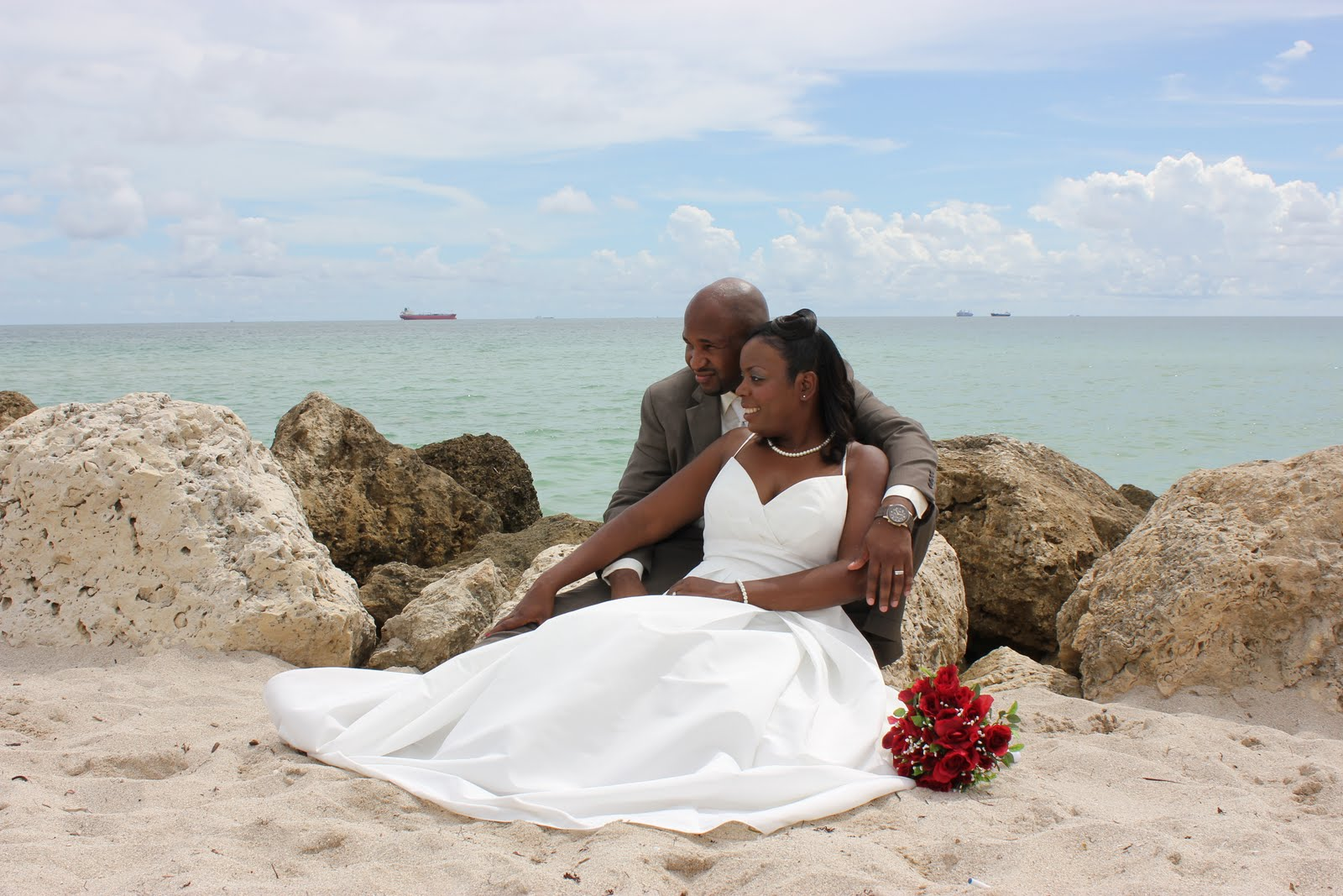 Tisha Anthony Miami Beach Wedding