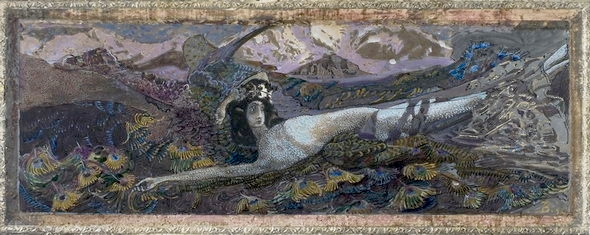 Mikhail Vrubel - Fallen Demon