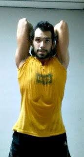 Rutina full body copa tríceps mancuerna