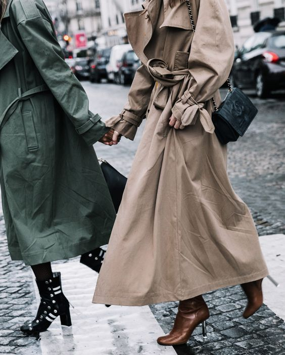 trench looks fashion style