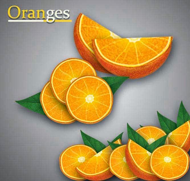 Illustrator Tutorial: Realistic Vector Orange