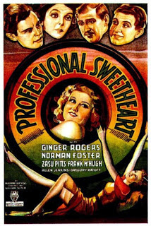 Ginger Rogers Professional Sweetheart 1933 movieloversrevews.filminspector.com