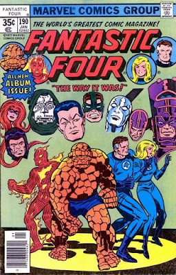 Fantastic Four #190, the way it was