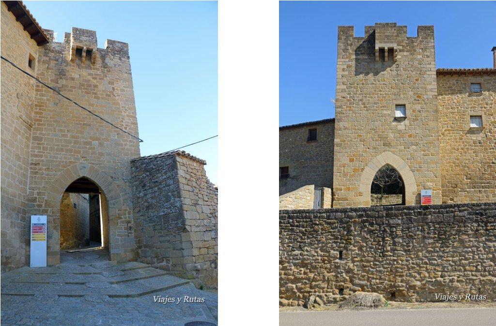 Portal de Jaca y de Sangüesa, Sos del Rey Católico