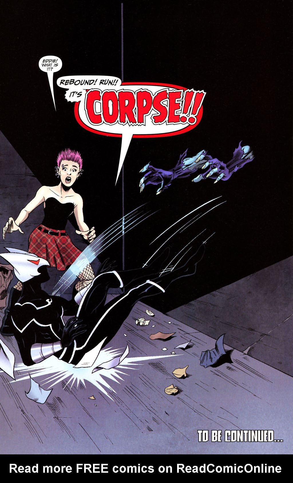 Read online ShadowHawk (2005) comic -  Issue #14 - 23