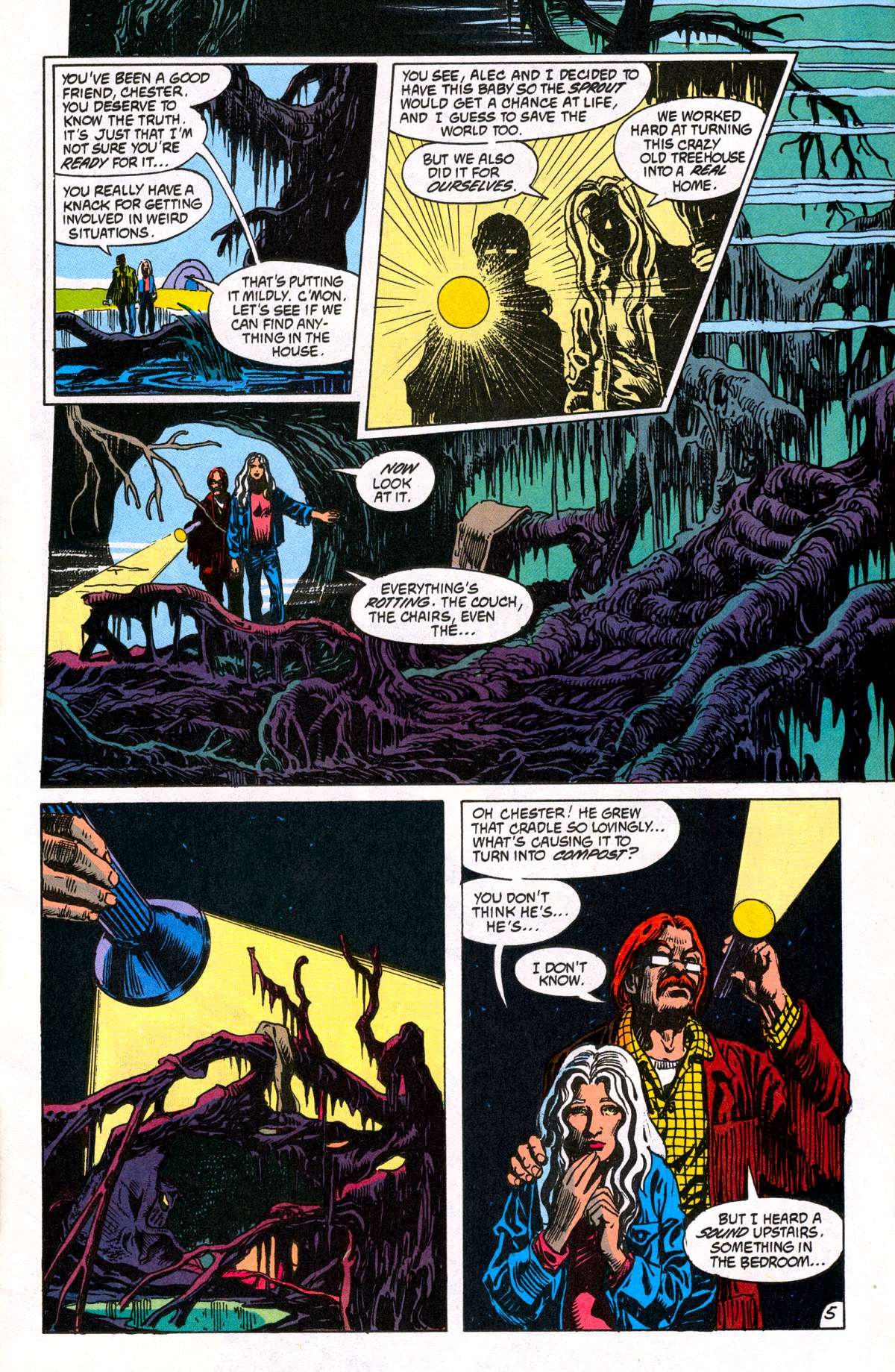 Swamp Thing (1982) Issue #81 #89 - English 6