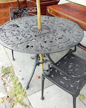 Uhuru Furniture & Collectibles Sold Wrought Iron Patio