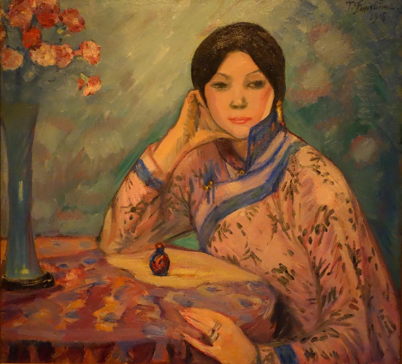 Японская живопись мастер класс видео + #2