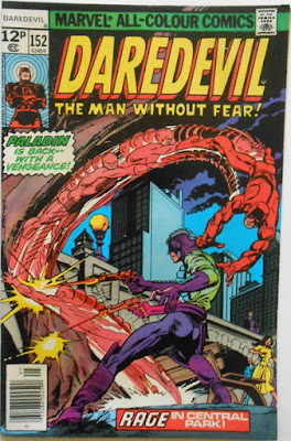 Daredevil #152, Paladin is back