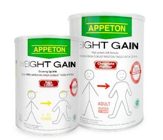 8 Susu penambah berat badan dan Harganya di Pasaran