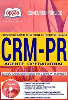 Apostila CRM-PR 2018 Agente Operacional