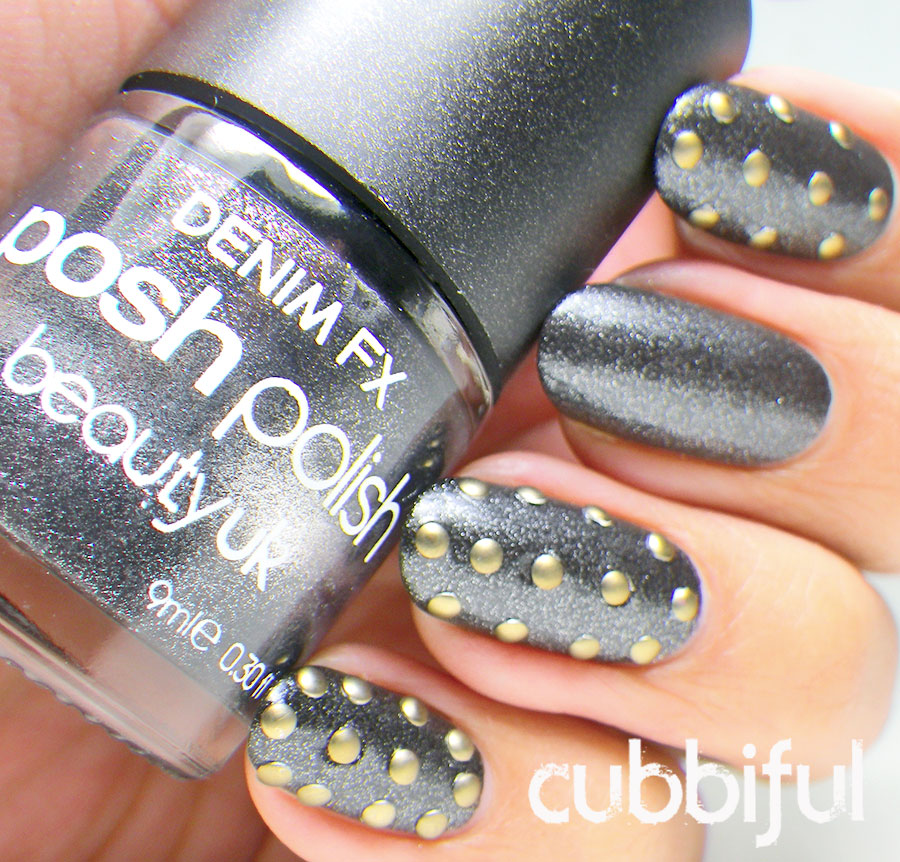 swatch BeautyUK Denim FX Black Denim