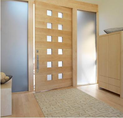 Fotos y dise os de puertas cerradura puerta corredera - Puerta corredera empotrada ...