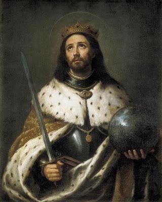 Fernando III el Santo - Murillo 1671 - Catedral de Sevilla