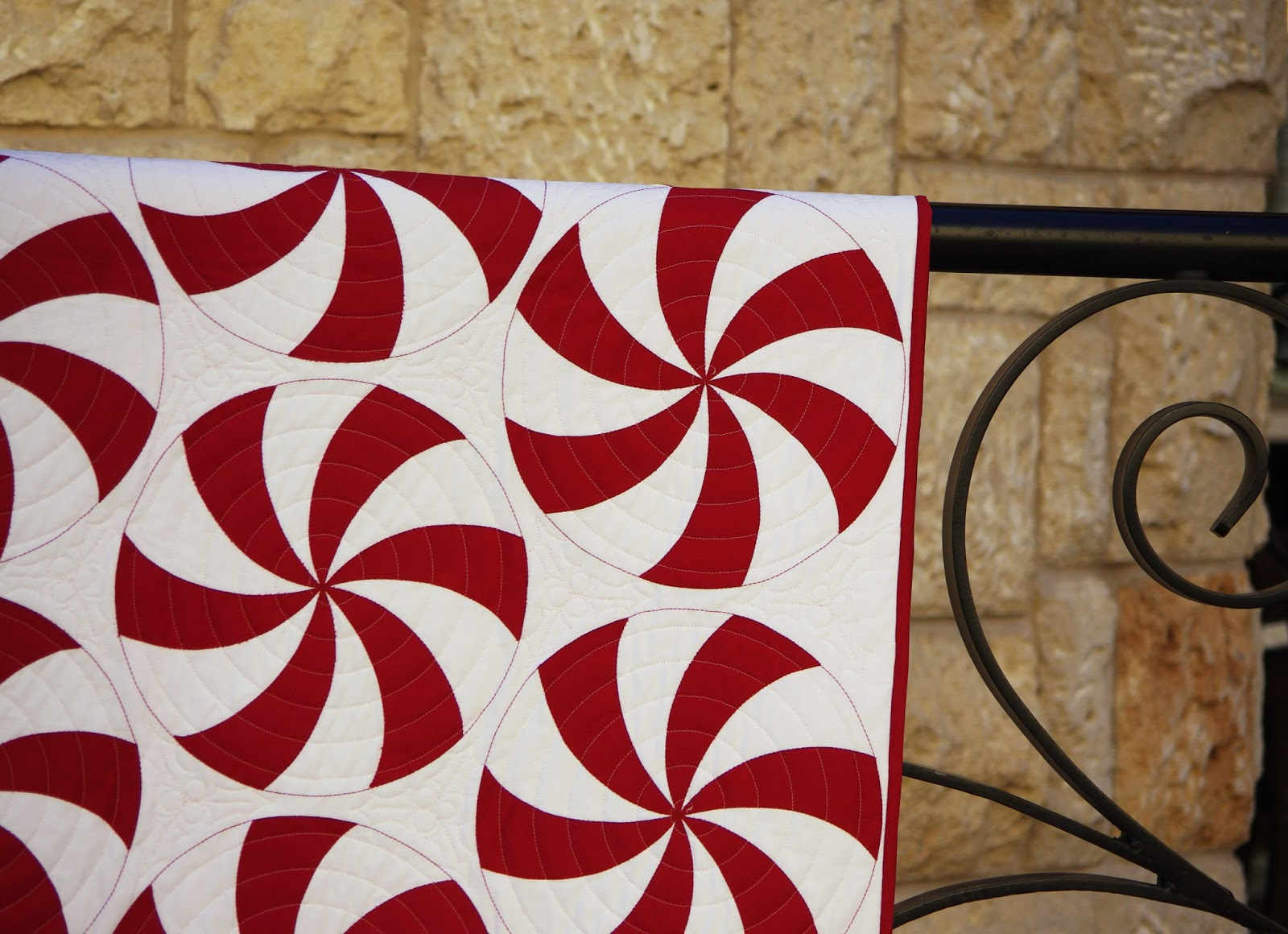 Peppermint Swirl Quilt Ahhh Quilting