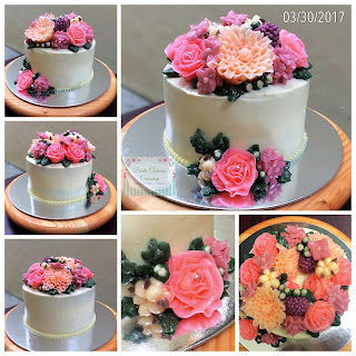 Bento Caravan Flower Cake
