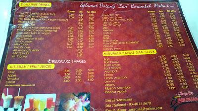 Antara Menu Yang Ada Kat Dapur Sarawak Ni Mee Kolok Laksa Jawa Crispy Sos Tomato Nasi Goreng Dabai Dan Banyak Lagi