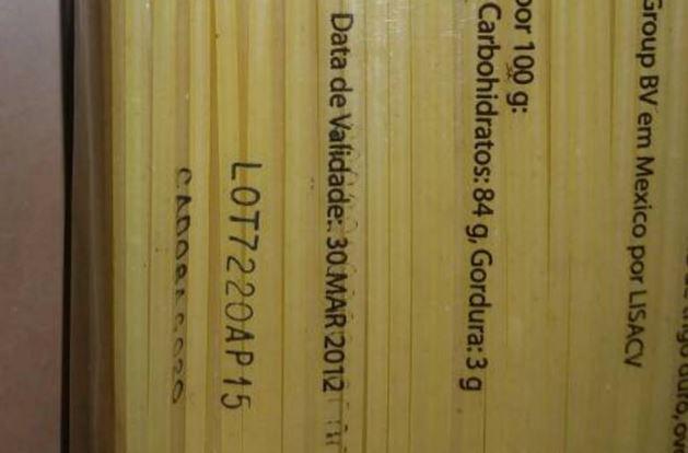 Espaguetis que vienen en las CLAP están vencidos desde el 2012