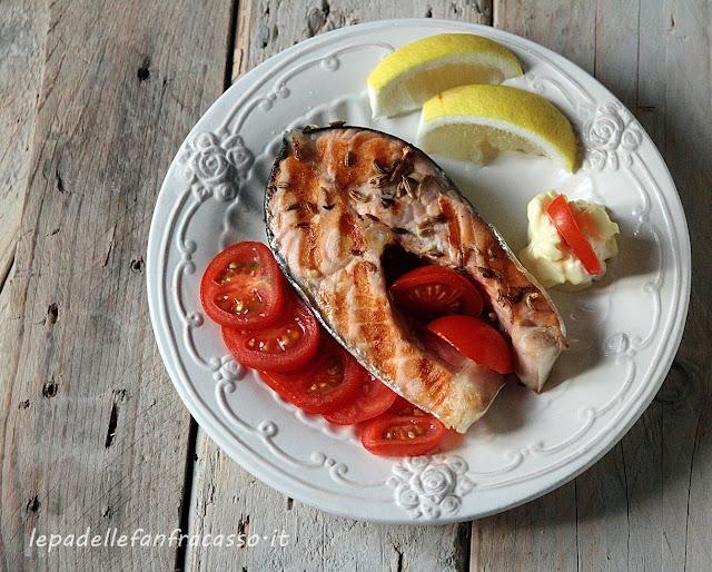 ricetta per il salmone