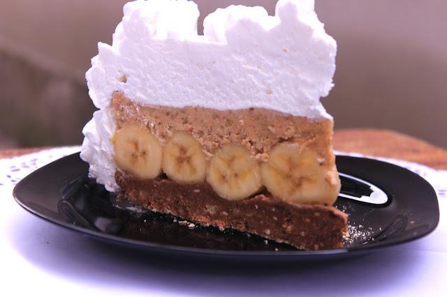 Brza-torta-sa-bananama-posna-bez pečenja-kuvanja