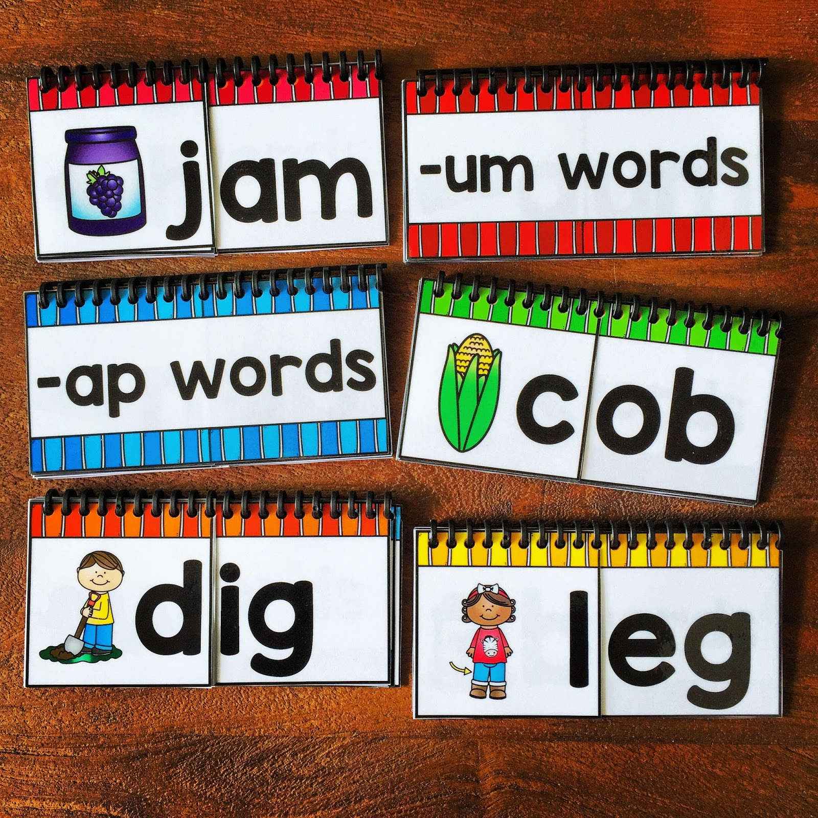 CVC Word Family Flip Books | Primary and Special Education Resource