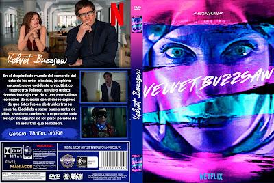 CARATULA VUELVET BUZZSAW - 2019 [COVER DVD]