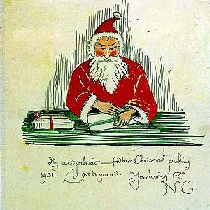 The world crafter my favourite christmas story number 6 todays story is called the father christmas letters by jrr tolkien between the years of 1920 and 1942 jrr tolkiens children received letters from spiritdancerdesigns Gallery