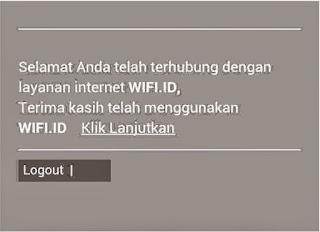 Cara Terhubung Internet Wifi.Id Menggunakan Ponsel Android