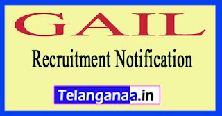 GAIL (GAIL India Limited) Recruitment Notification 2017