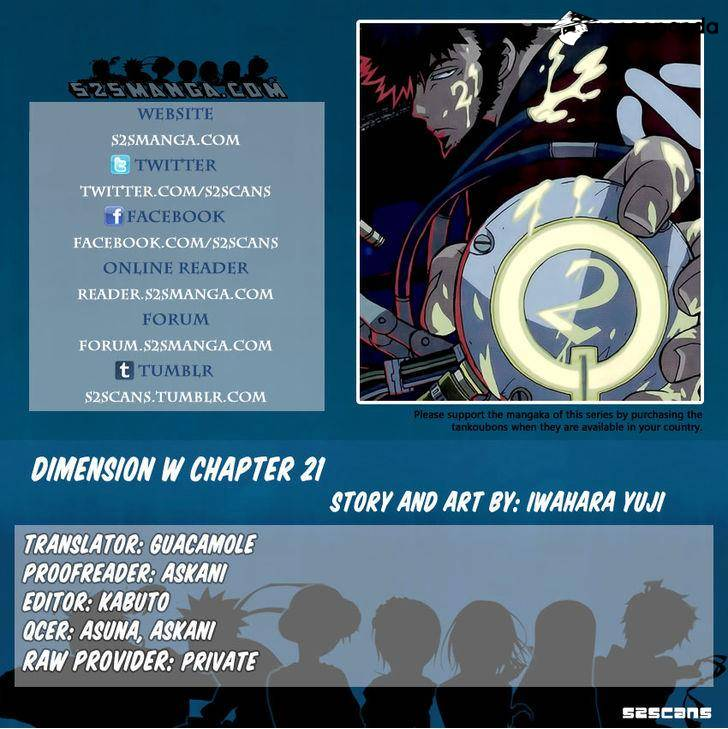 Dimension W - Chapter 23