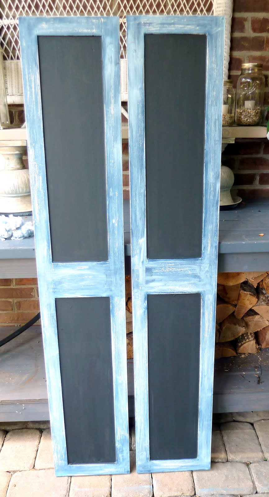 Repurposed Cabinet Doors - Our Fifth House