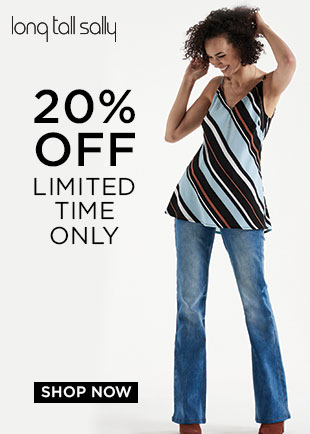 Long Tall Sally 20 percent off September 2016