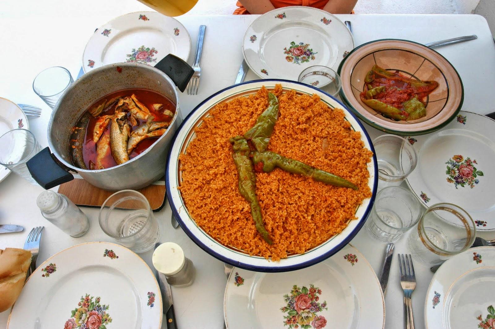 Recette de couscous sfaxienne au poisson cuisine tunisienne - Cuisine tunisienne poisson ...