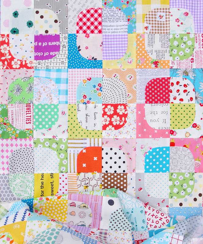 99 Squircles Quilt   Work in Progress   © Red Pepper Quilts July 2017