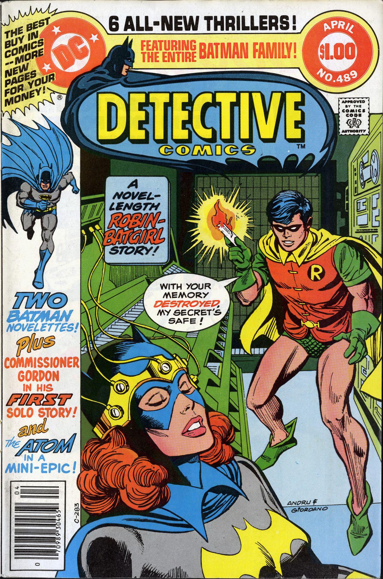 Detective Comics (1937) 489 Page 1