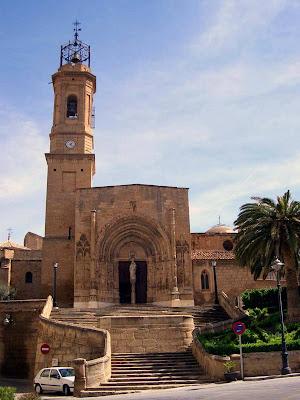 Colegiata; Iglesia; Caspe; Zaragoza; Aragón
