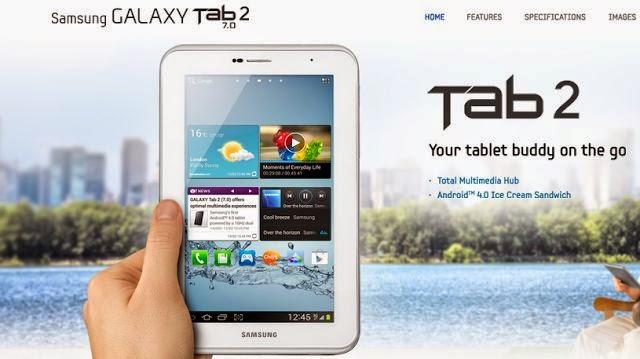 harga Samsung Galaxy Tab 2 7.0, Samsung Galaxy Tab 2 7.0, spesifikasi Samsung Galaxy Tab 2 7.0, Harga Tablet Samsung,