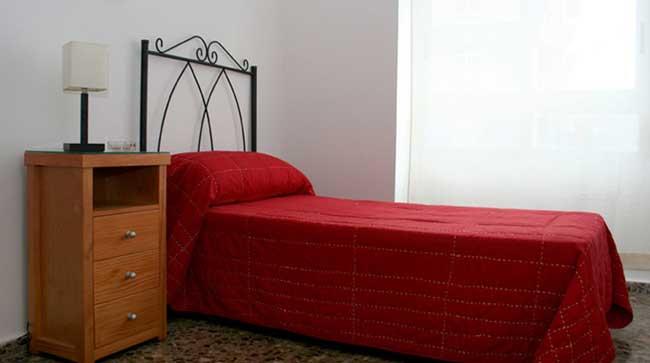 piso en alquiler zona peri 18 castellon dormitorio