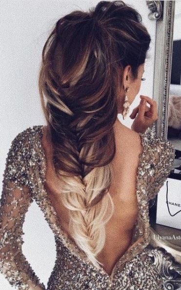 amazing braid hairstyle idea / long fish tail