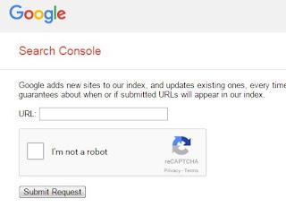 Daftarkan Blog ke Google