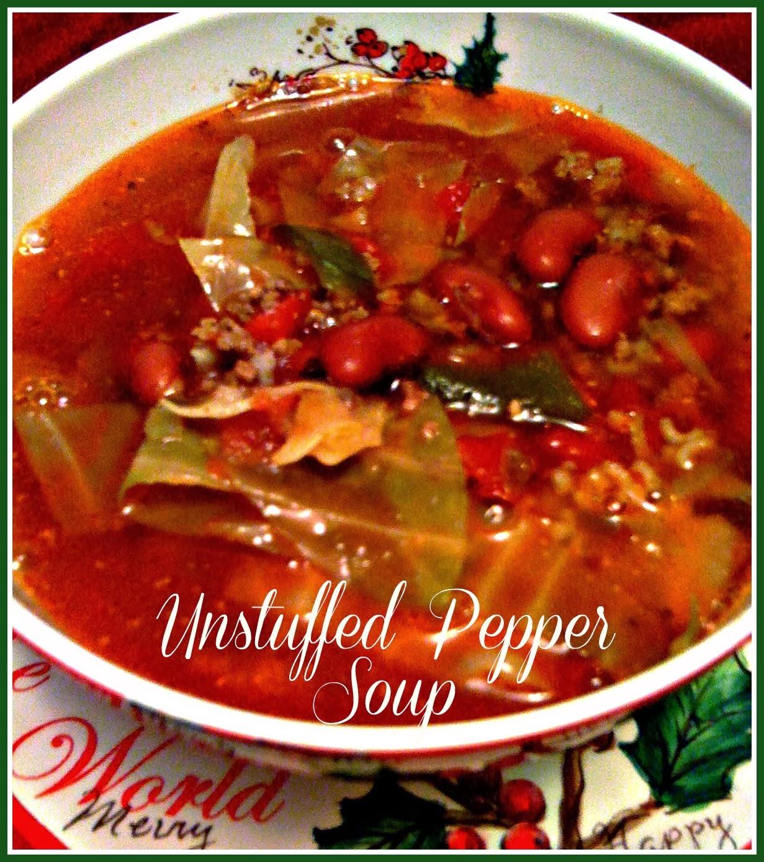 Stuffed Green Pepper Soup Food Network