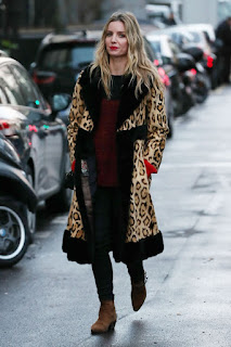 Annabelle Wallis Out And About In Paris