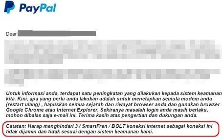 Mengapa Tidak Bisa Masuk Pay Pal Padahal Email Dan Password Sudah