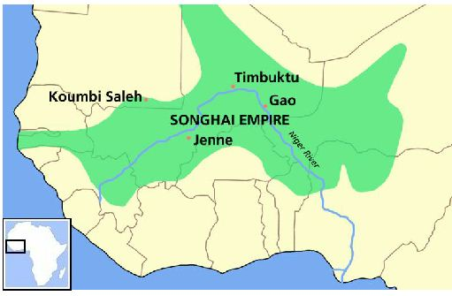 Songhai Africa Map.Epic World History Songhai Empire