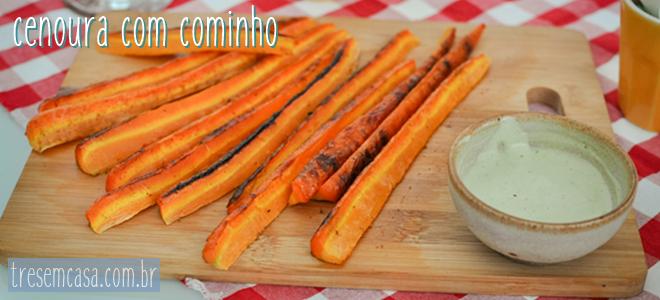 cenoura forno