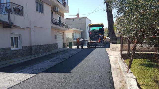 Αλλάζουμε την εικόνα των δρόμων απ' άκρη σ' άκρη του Δήμου Θερμαϊκού