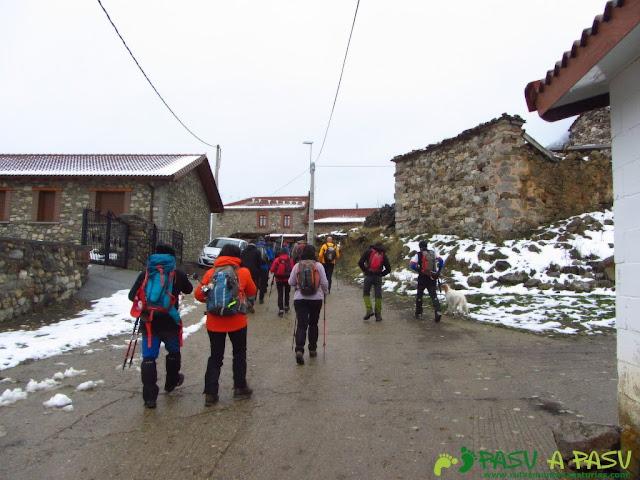 Ruta a la Barragana: Saliendo de Cubillas de Arbás hacia la Barragana