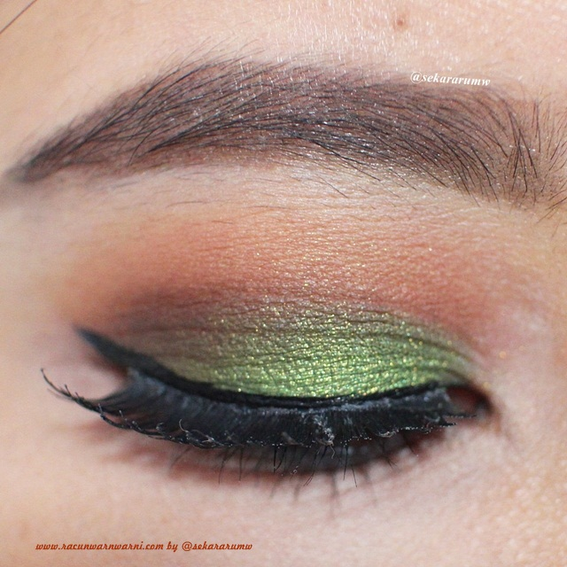 EOTD Green Autumn Make Up